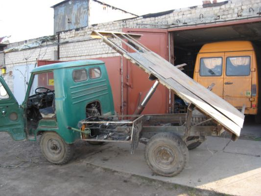 Небольшой грузовик своими руками